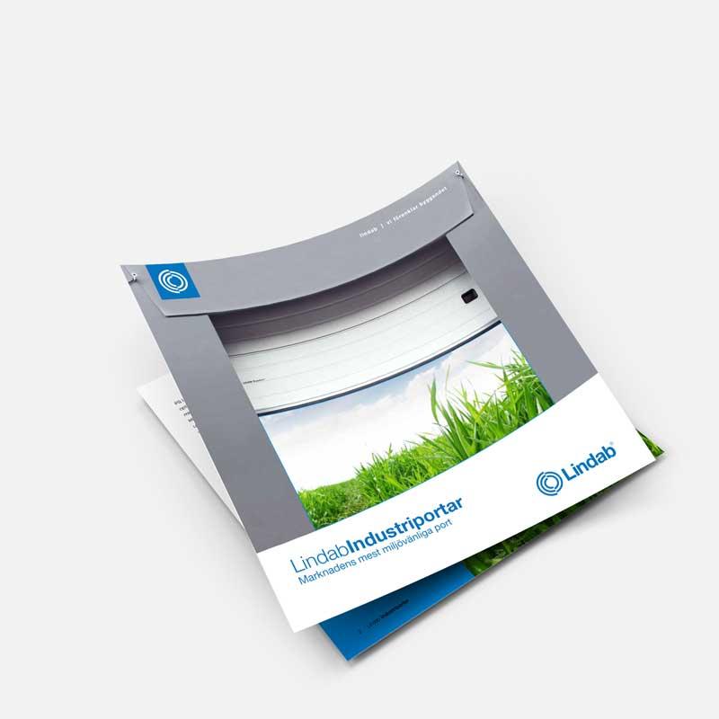 Beställ broschyr – industriportar